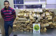Polícia Militar de Cambé apreende 268 kg de entorpecente na BR-369