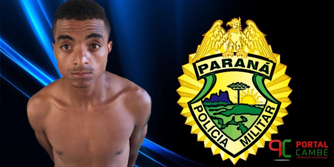 Rapaz tem prisão decretada pela Justiça no Conjunto Habitacional Antônio Euthymio Casaroto em Cambé