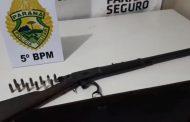 Homem ameaça vizinha com espingarda no Conjunto Castelo Branco em Cambé