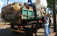 Mutirões de limpeza recolhem dezenas de toneladas de lixo por onde passam em Cambé