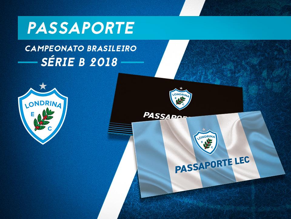 Passaporte Tubarão: Você com o Londrina rumo à Série A do Brasileiro!