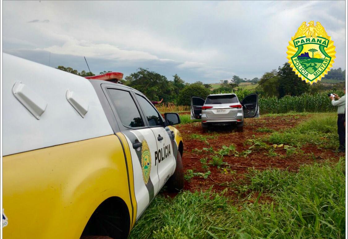 Camioneta roubada em Londrina é recuperada pela Polícia Militar em Cambé