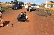 PM prende assaltantes de Cambé em Marilândia do Sul