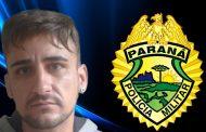 Rapaz é preso com mandado de prisão por ameaça no Conjunto Habitacional Castelo Branco em Cambé