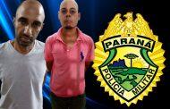 Dupla é presa em flagrante por tentativa de furto a uma camioneta no Jardim Santa Izabel em Cambé