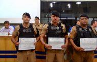 Policiais Militares recebem menção honrosa da Câmara de Vereadores de Cambé