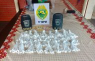 Polícia Militar apreende grande quantidade de droga no Jardim Ana Eliza I em Cambé