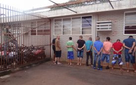 Megaoperação da Policia Civil e Policia Militar cumpre mais de 90 mandados e mira três quadrilhas em Cambé