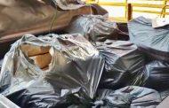 Mais de 320 kg de drogas foram incineradas pela Polícia Civil na cidade de Rolândia