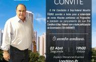 Governadora Cida Borguetti vem a Londrina fazer o lançamento da pré-candidatura de Maurílio Viana a Deputado Federal