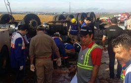 Grave acidente registrado na manhã de domingo na PR 445 em Cambé