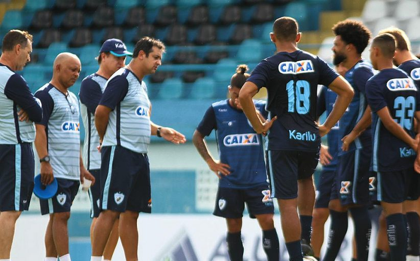 Tubarão fez treino no Estádio da Curuzu e está pronto para enfrentar o Paysandu