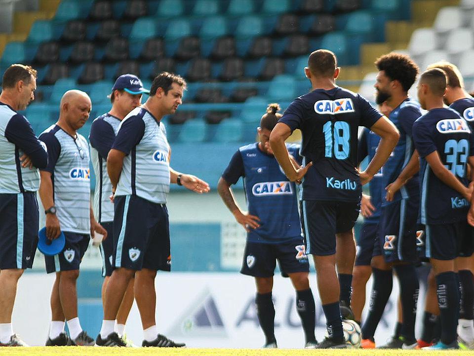 Tubarão fez treino no Estádio da Curuzu e está pronto para enfrentar o  Paysandu 2c80eb4941845