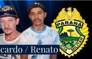 Dois são detidos suspeitos de furto a uma residência próximo ao Cemitério de Cambé