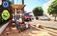 Mulher impede roubo no Centro de Cambé