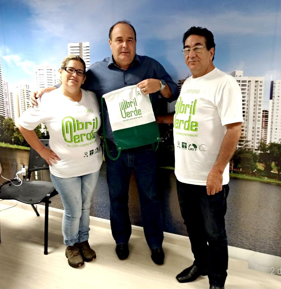 MOBILIZAÇÃO: Maurílio afirma compromisso com o movimento Abril Verde