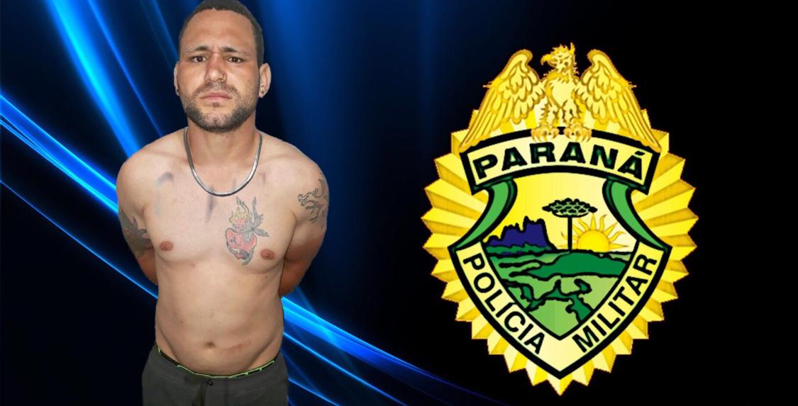 Rapaz é preso com mandado de prisão por furto no Jardim Ana Rosa em Cambé