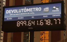 Nota Paraná libera R$ 900 milhões