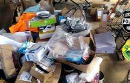Polícia Civil de Cambé e P2 recuperam parte de carga roubada dos Correios de Londrina