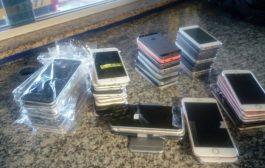 PRF apreende Iphones roubados/furtados em shows sertanejos em São Paulo e Paraná