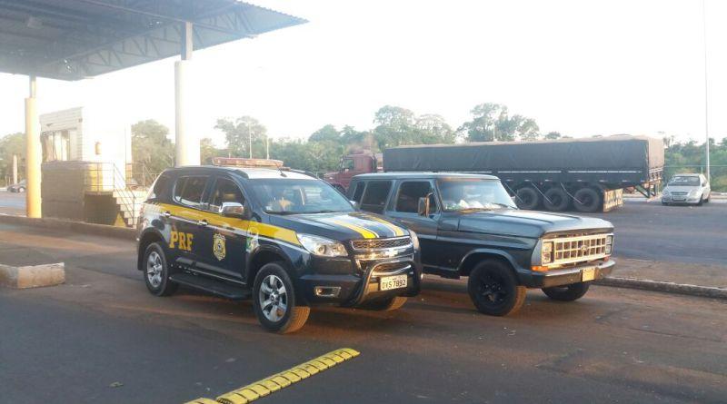 PRF recupera em Guaíra caminhonete roubada há 18 anos