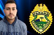 """Suspeito de ser """"batedor"""" é preso pela Polícia Militar em posto de combustível em Cambé"""