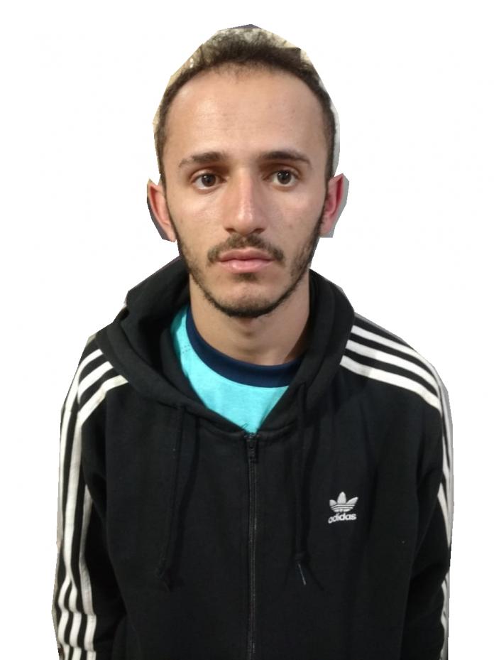 Eduardo Isso de Morais de 20 anos